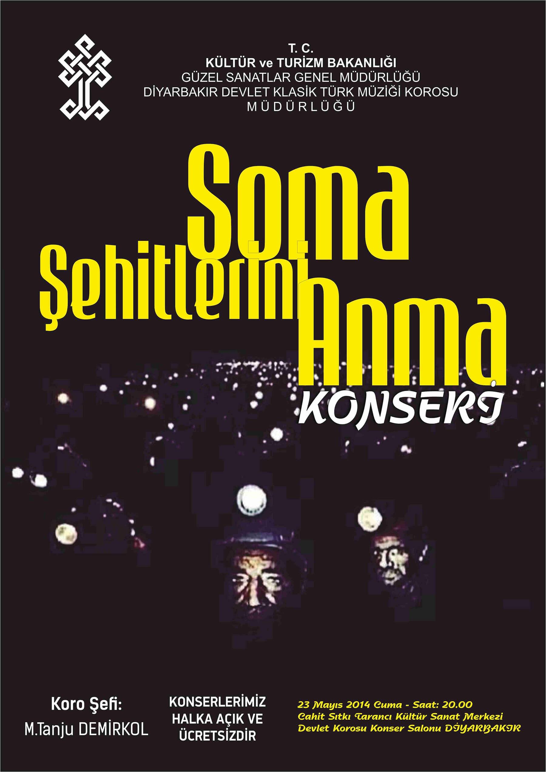 SOMA ŞEHİTLERİ ANMA KONSERİ